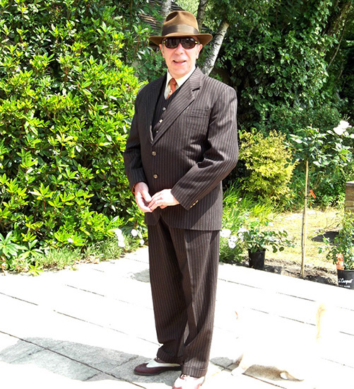 forties ww2 vintage suit